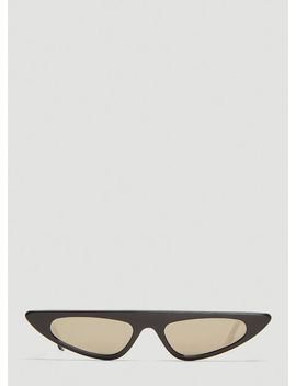 Florence Sunglasses In Black by Andy Wolf