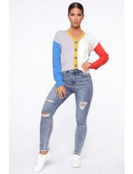 Jojo Distressed Jeans   Medium Blue Wash by Fashion Nova