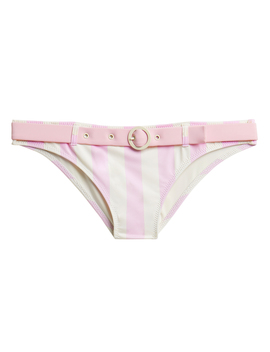 Rachel Belted Bikini Bottoms by Solid & Striped