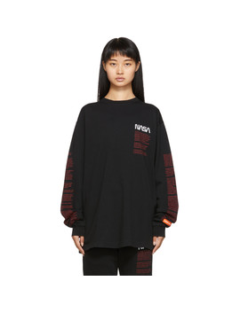 Black Facts Long Sleeve T Shirt by Heron Preston