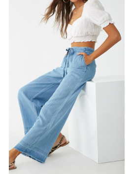 Pantalón Chambray by Forever 21