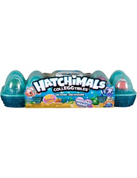 Coll Eg Gtibles 12 Pack Mermal Magic Egg Carton   Blind Box by Hatchimals