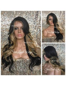 Long Brown Honey Blonde Full Wig   Loose Curls   Bangs   Layers   Side Part   Heat Resistant Safe by Etsy