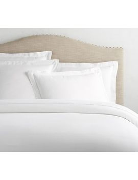 Tencel™ Duvet Cover & Shams   White by Pottery Barn