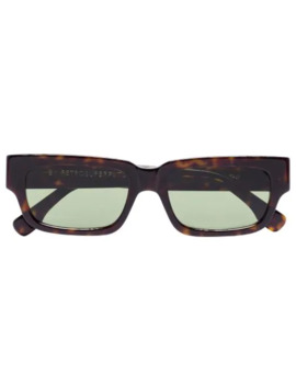 Roma Tortoiseshell Effect Sunglasses by Retrosuperfuture