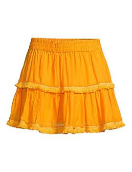 Morena Fringe Skirt by Tessora