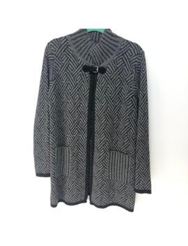 Chiaramente Jacket Sweater Wool Preowned/Used by Chiaramente