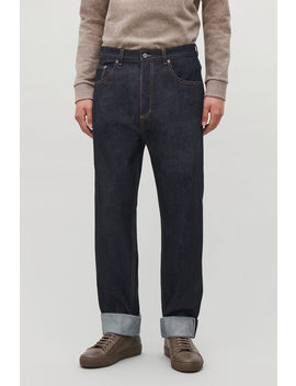 Relaxed Leg Jeans With Turn Ups by Cos