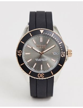 Hugo Boss Mens 1513558 Ocean Edition Watch In Black by Boss