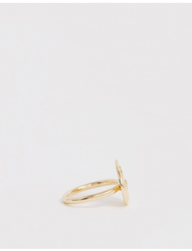 Weekday Lady Ring In Gold by Weekday