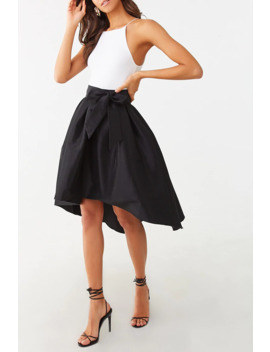 Flared High Low Skirt by Forever 21