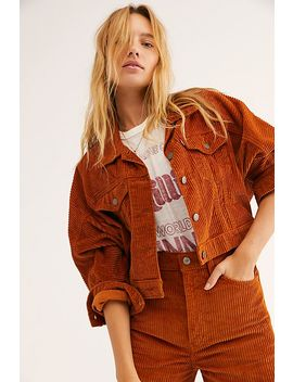 Future Vintage Cord Trucker Jacket by Levi's