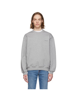 Grey 'balenciaga®' Sweatshirt by Balenciaga