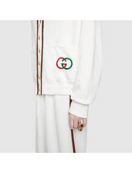 Technical Jersey Cardigan by Gucci