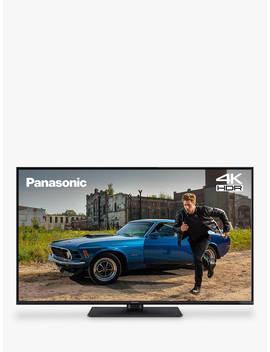 "Panasonic Tx 55 Gx550 B (2019) Led Hdr 4 K Ultra Hd Smart Tv, 55"" With Freeview Play, Black by Panasonic"