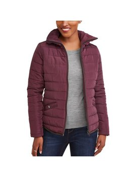 Jason Maxwell Women's Fitted Puffer Coat by Jason Maxwell