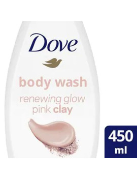 Dove Renewing Glow Pink Clay Body Wash 450ml by Superdrug