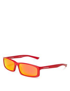 Women's Rectangular Sunglasses, 60mm by Balenciaga