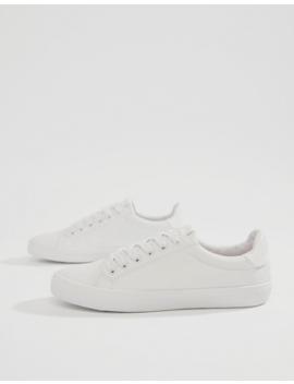 Asos Design – Dustin – Weiße Sneaker Zum Schnüren by Asos