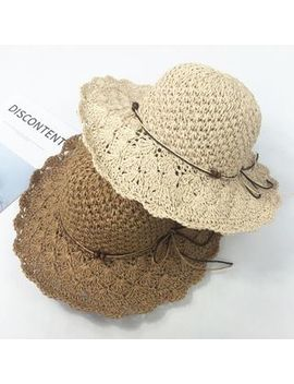 Pompabee   Straw Sun Hat by Pompabee