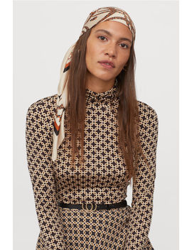 Modal Polo Neck Top by H&M