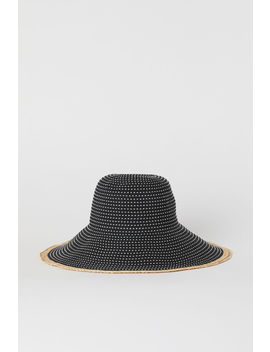 Sun Hat With Raffia Edge by H&M