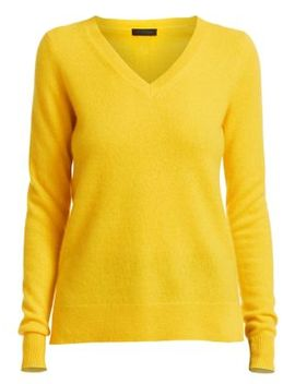 Collection Cashmere V Neck Sweater by Saks Fifth Avenue