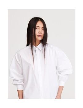 Рубашка с рукавами буф by Reserved