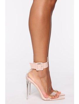 Don't Sleep On It Heeled Sandals   Nude by Fashion Nova