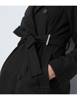 Belted Tailored Coat by Cf011