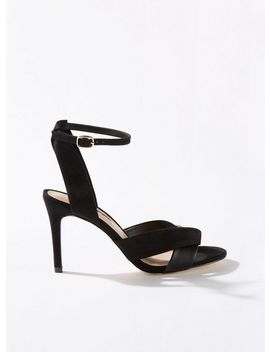 Hilda Black Cross Over Sandals by Miss Selfridge