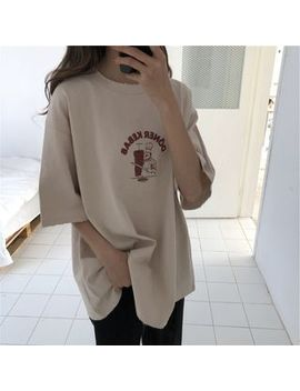 Onespark   Elbow Sleeve Print T Shirt by Onespark