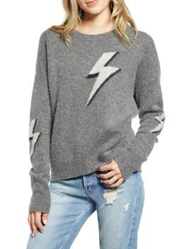Lightning Bolt Merino Wool & Cashmere Sweater by Rails
