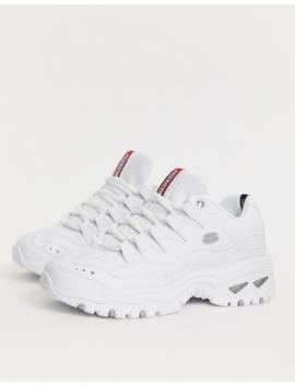 Skechers Energy Sneakers In White by Skechers