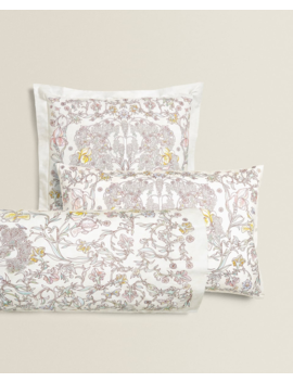 Tree Of Life Pillowcase  New In by Zara Home
