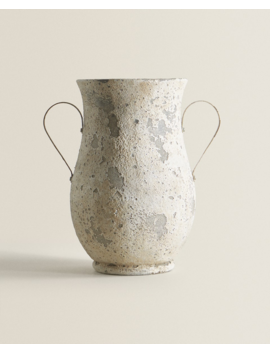 Rustic Amphora With Handles  New In by Zara Home