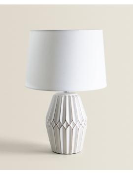 Raised Ceramic Lamp  New In by Zara Home