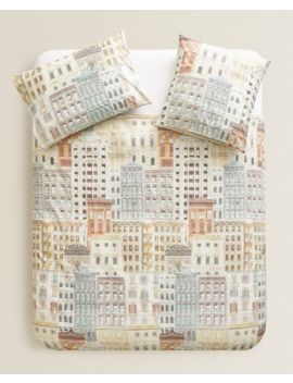 Printed Duvet Cover  New In by Zara Home