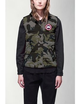 Freestyle Vest Print by Canada Goose