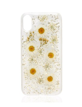 X/Xs White Floral Phone Case      X/Xs White Floral Phone Case by Sportsgirl