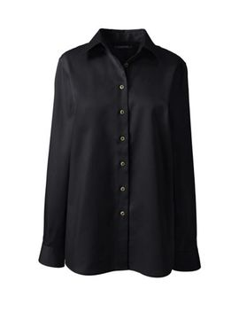 Women's Long Sleeve Performance Twill Shirt by Lands' End