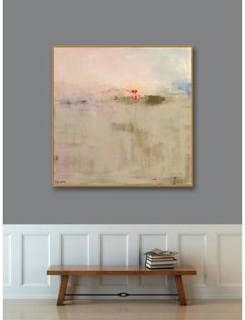 Large Framed Wall Art, Gold Framed Abstract Landscape, Framed Prints Large Canvas Print, Large Landscape Print, Large Wall Art Framed by Etsy