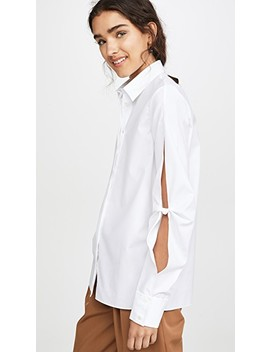 Hinge Knot Shirt by Dion Lee