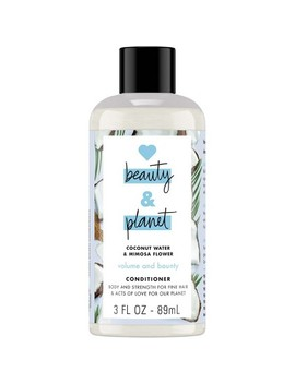 Love Beauty & Planet Coconut Water & Mimosa Flower Volume And Bounty Conditioner   3 Fl Oz by 3 Fl Oz