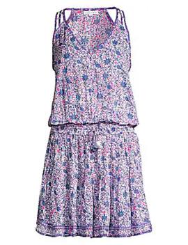 Ola Floral Mini Dress by Poupette St Barth