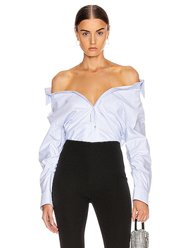 Falling Button Down Shirt by Alexander Wang