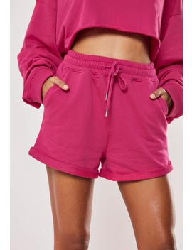 Tall Pink Runner Shorts by Missguided