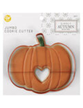 Wilton Simply Autumn Jumbo Cookie Cutter Pumpkin    Wilton Simply Autumn Jumbo Cookie Cutter Pumpkin by Simply Autumn Baking