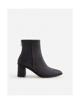 Mid Heel Ankle Boots by Reserved