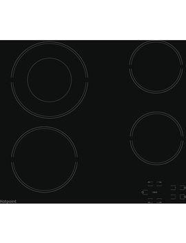 Hr 612 C H Electric Ceramic Hob   Black by Currys